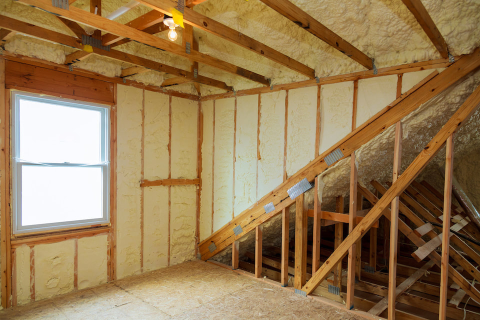 Attic Foam Insulation Arkansas