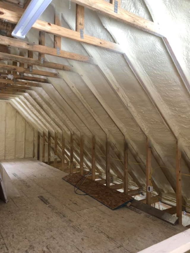 Attic Spray Foam Insulation Arkansas